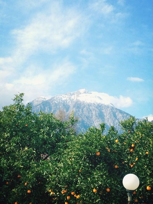 Mountains Orange Landscape Turkey