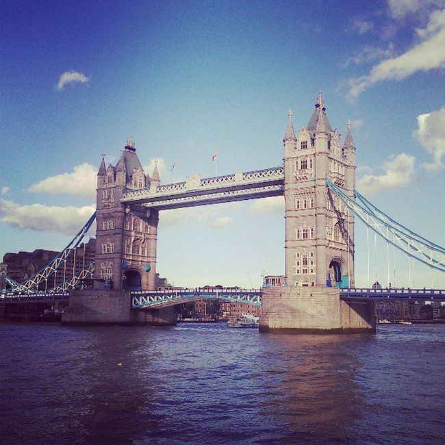 Tower Bridge ~ London :) :) Lotsofmemories First Trip Ilovethiscity Travel Photography Beautiful Place  Sky And Clouds Bestcityintheworld Crown Jewels Magic Place