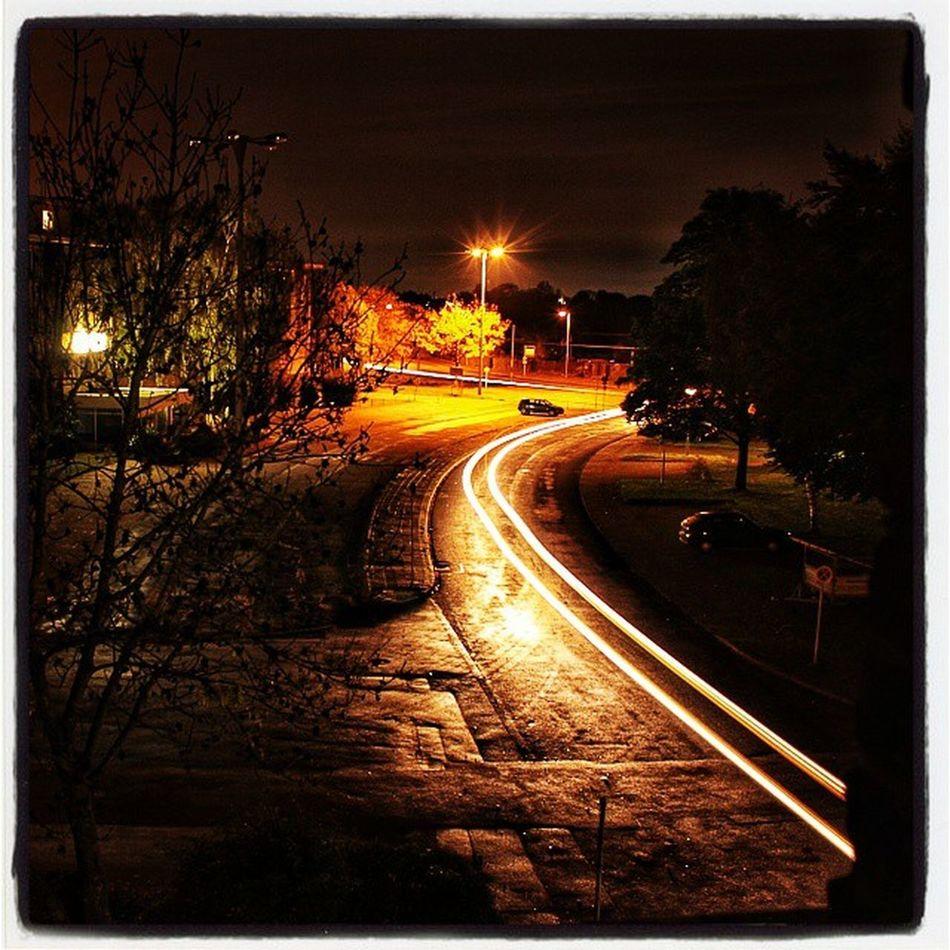 Nochmal ein Bild von einem Teil von Krefeld Linn bei Nacht . KrefeldLinn langzeitbelichtung bulbexposure