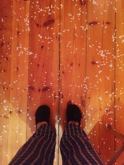Sunday Confetti Wooden Floor