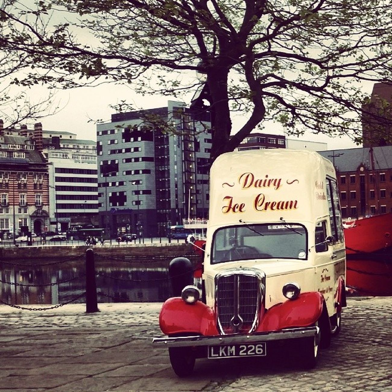 Liverpool Icecreamvan