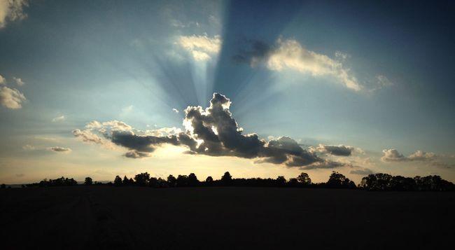Sunset 😻 Sunset Village Evening Magic IOS9 IPhone