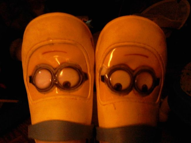 Floortraits Minion's Eyes Minion Shoes