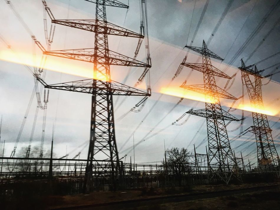 new series 2017 - in flames Eye4photography  EyeEm Best Shots Electricity  Architecture Wanderlust