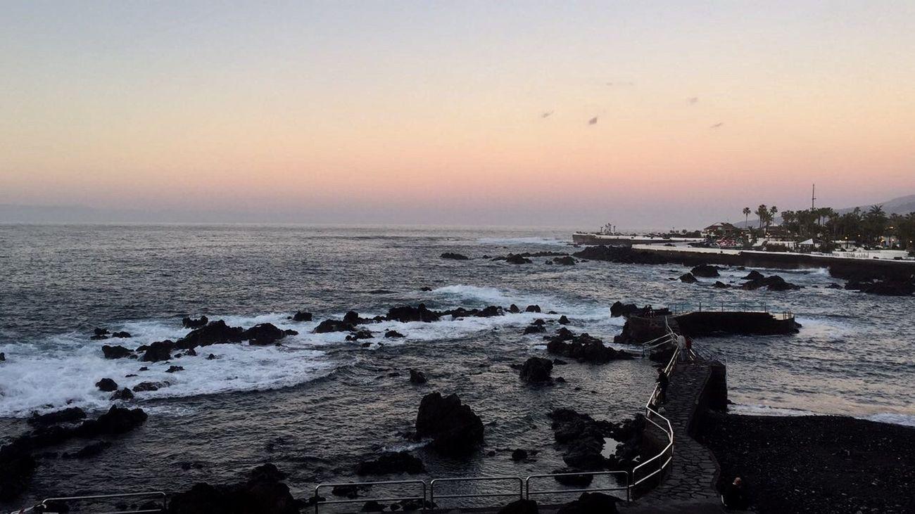 Atardecer Puertodelacruz Mar
