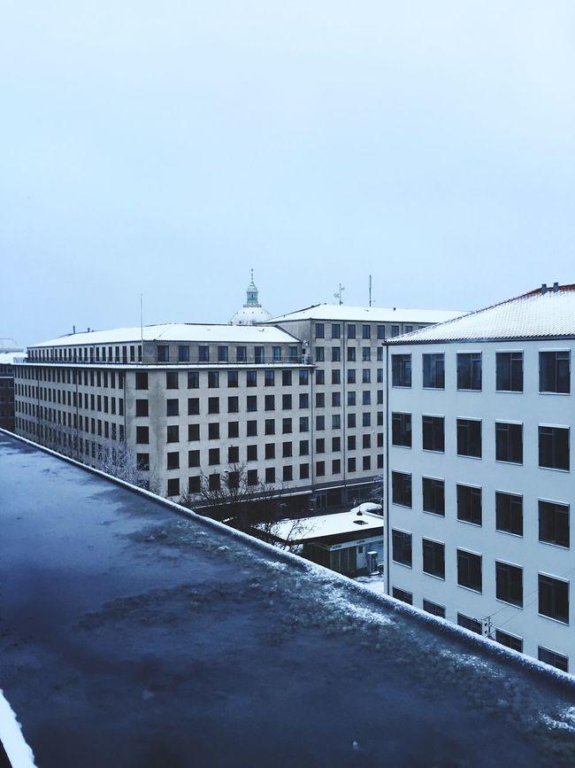 Good morning Copenhagen Snow Christmas Happy Cold White