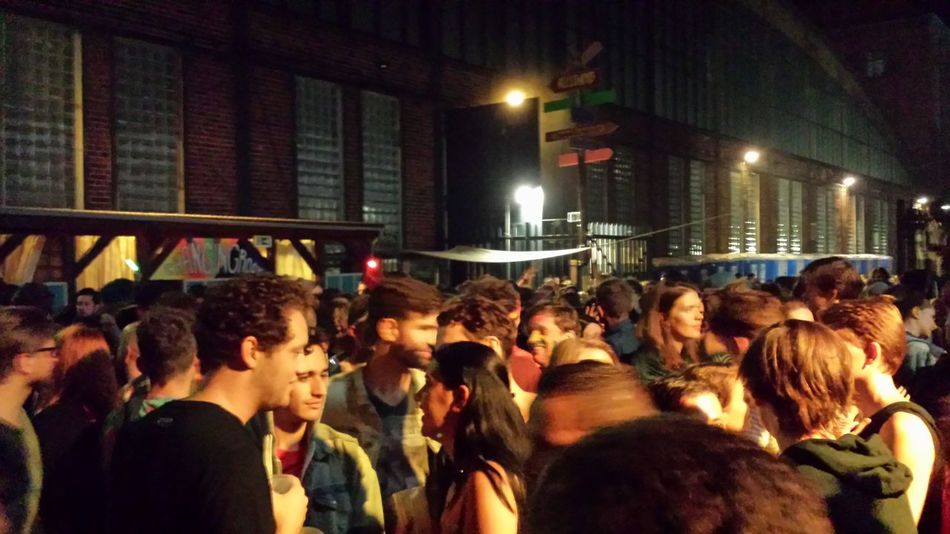Firstwetakethestreets Mayhem  Crowd