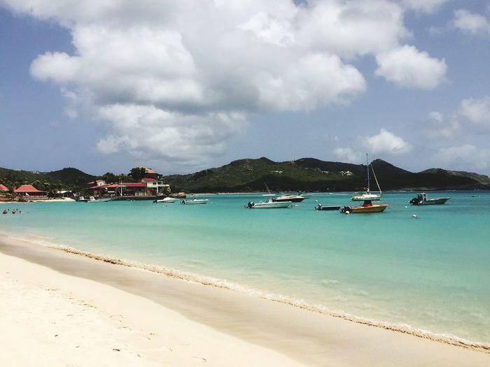 Beach Caribbean Sea St Barths
