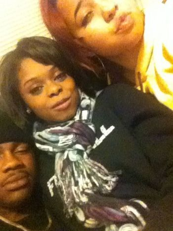 We was slouched b