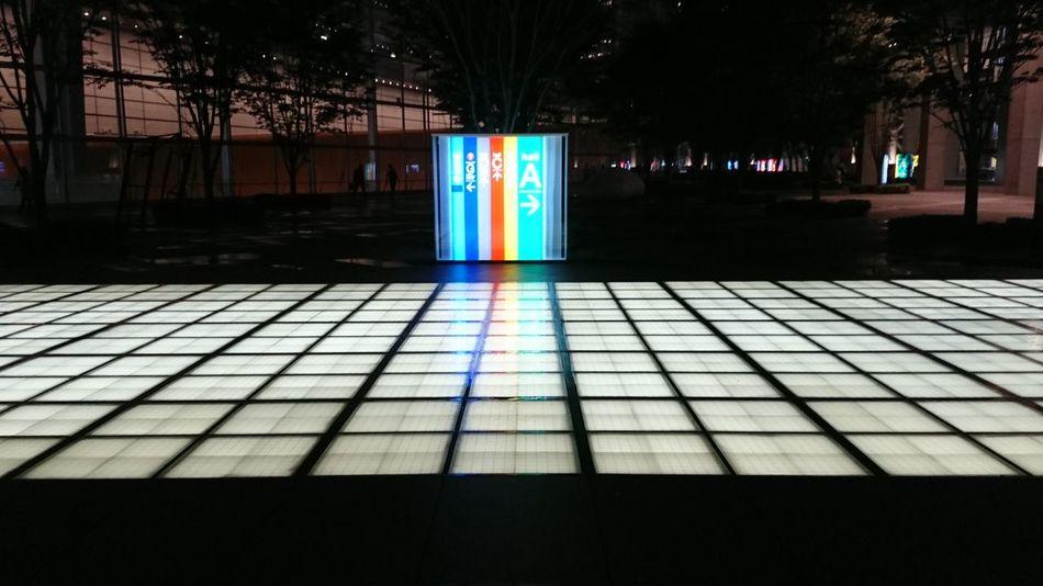 Night Lights Night Tokyo,Japan Park building Rights vari-colored