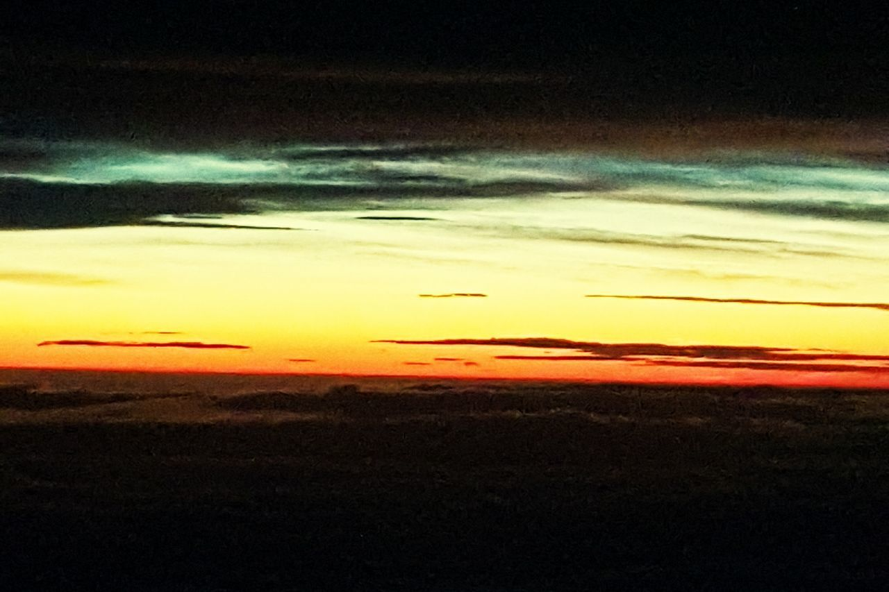 Sunrise And Clouds No People Sky Nature Beauty In Nature Sunrisephotography Sunrise From Plane Window Plane View Sun Sunset Sky Clouds