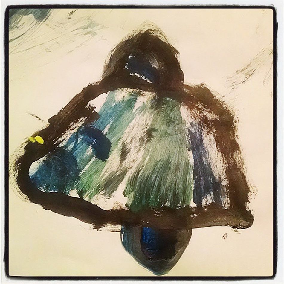 My Kennie girl painted me a Seahawk 😂 🏈 🏆 😳 👌 😘 Check THIS out 12s :) 12thman Seattle Seahawks