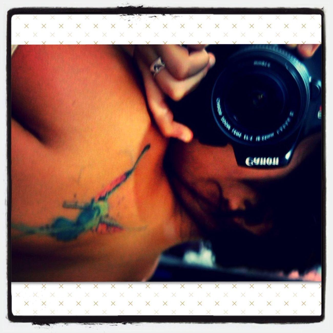 Tattoo Canon EOS Rebel T3