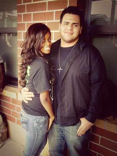 Me and danny :) Cute Last Day Senior Gonna Miss Ya </3