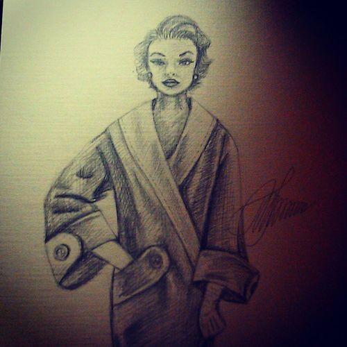 Наверное это последнии иллюстрации на тему моды 50-х годов;)рисунок рисую иллюстрация мода рисуноккарандашом черно-белое зарисовка набросок скейтч карандаш art myart myartwork drawing pencil sketch sketchaday instagramart illustration fashion50s fashion model
