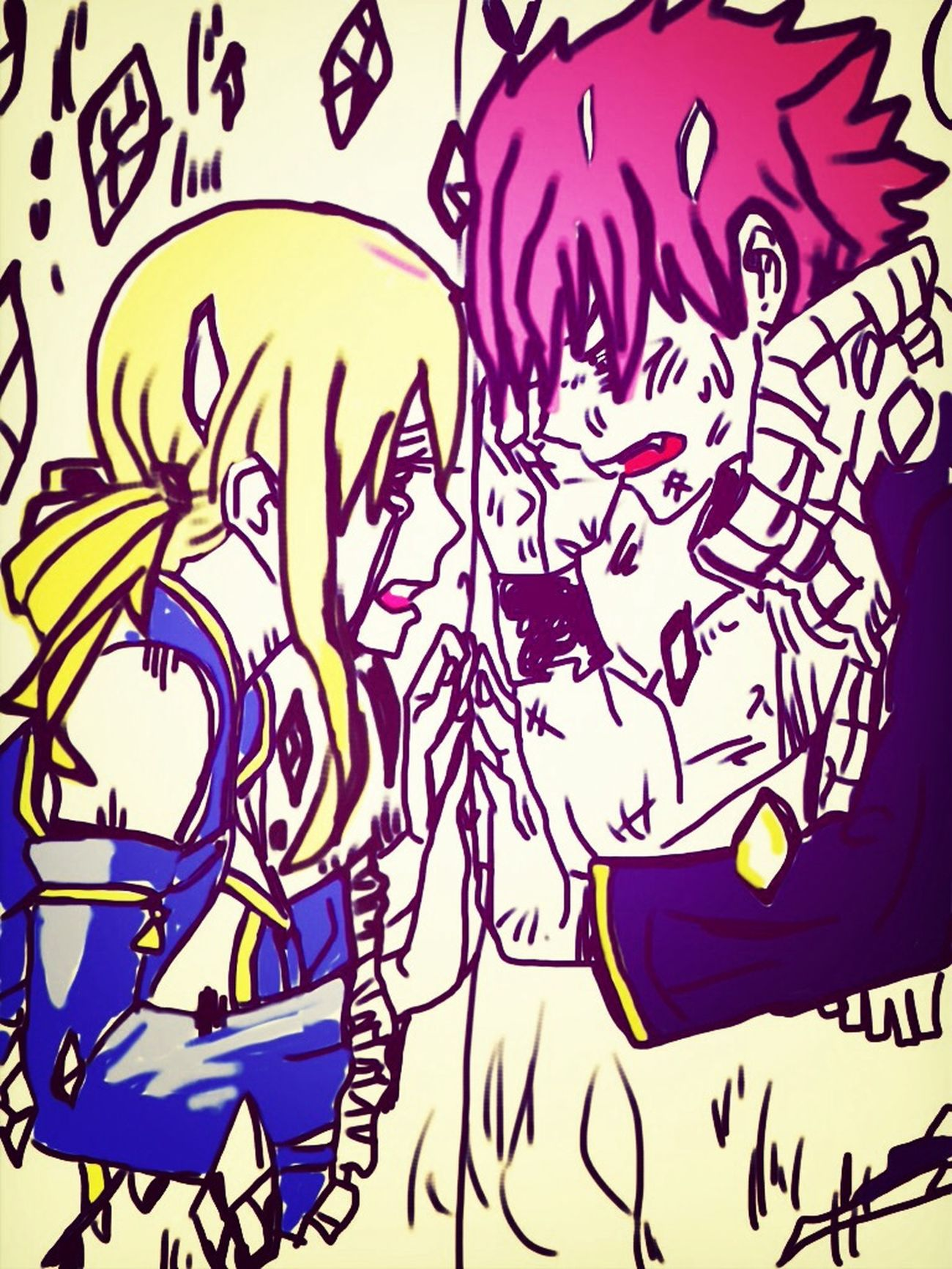 Separated... ;-; Fairy Tail NaLu ;3 Fairy Tail <3