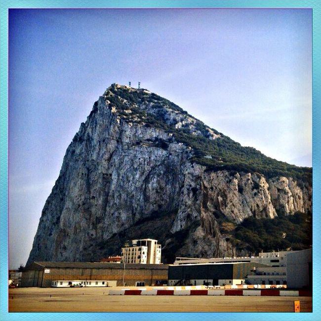 Gibraltar Upper Rock Affenfels