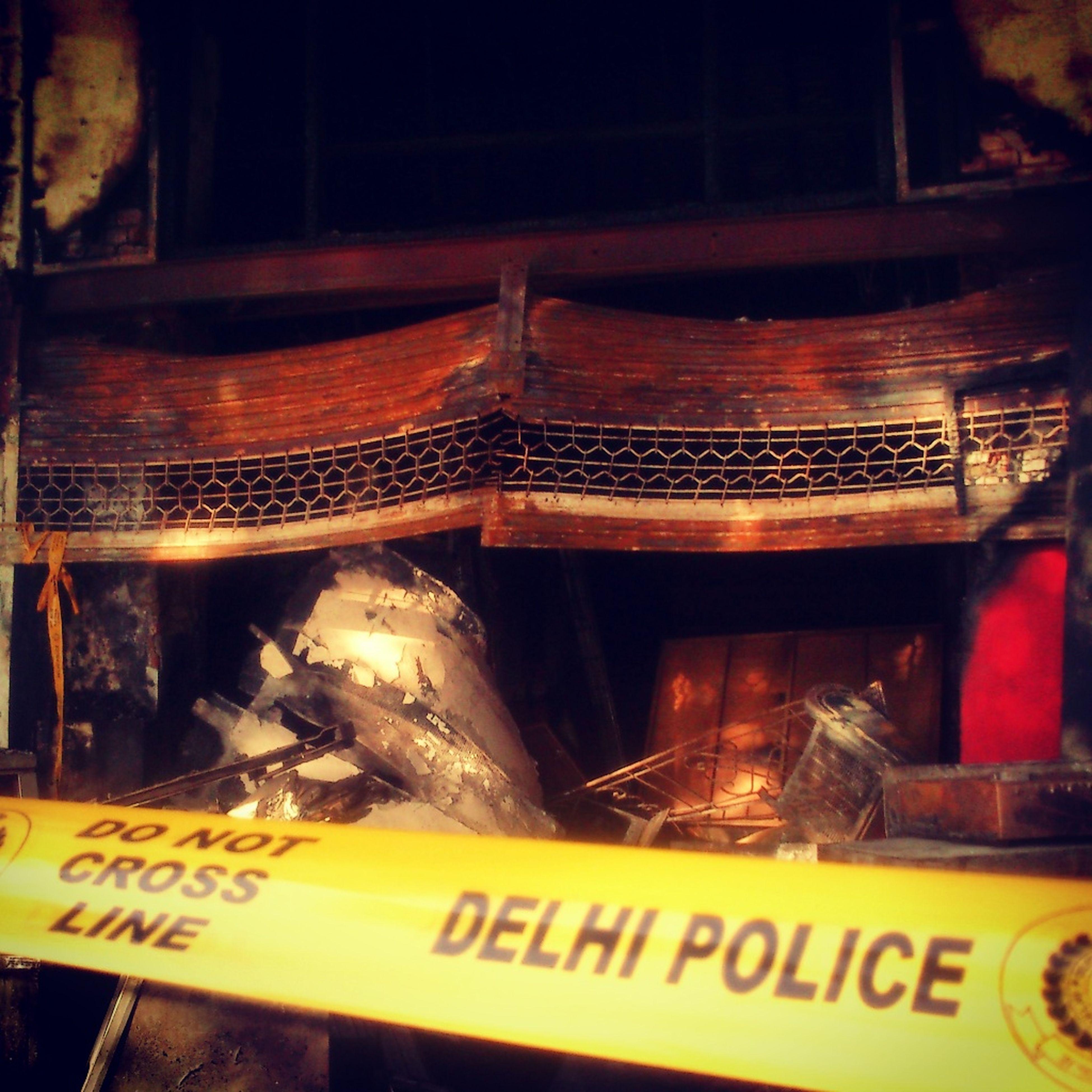 Burnt Restaurant Connaught Place Delhi Street
