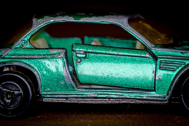 The toy from my childhood,I can remember any scratches..it was a great TIme Bmw Car Childhood Green Macro Beauty Macro Photography Matchbox Old Car