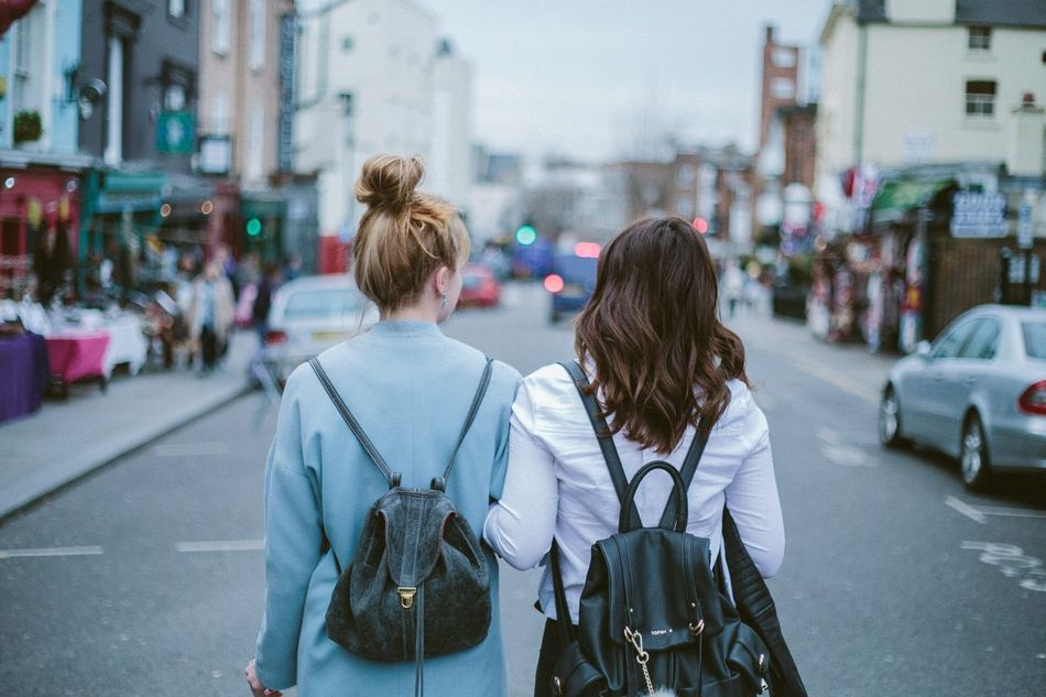 Beautiful stock photos of friends, Architecture, Backpack, Bonding, Building Exterior