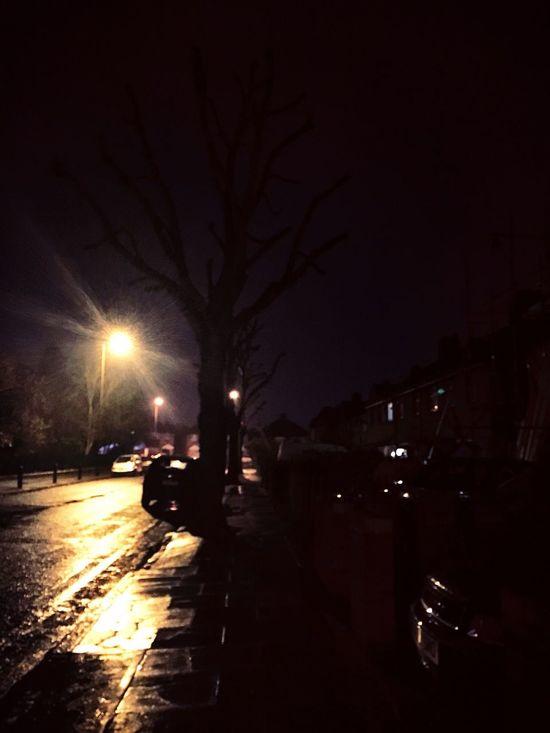 English Night Rain