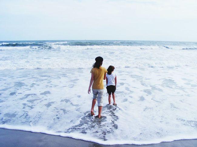 Cocoa Beach Florida Sisters ❤ Bigsislilsis Beach Photography Cellphone Photography