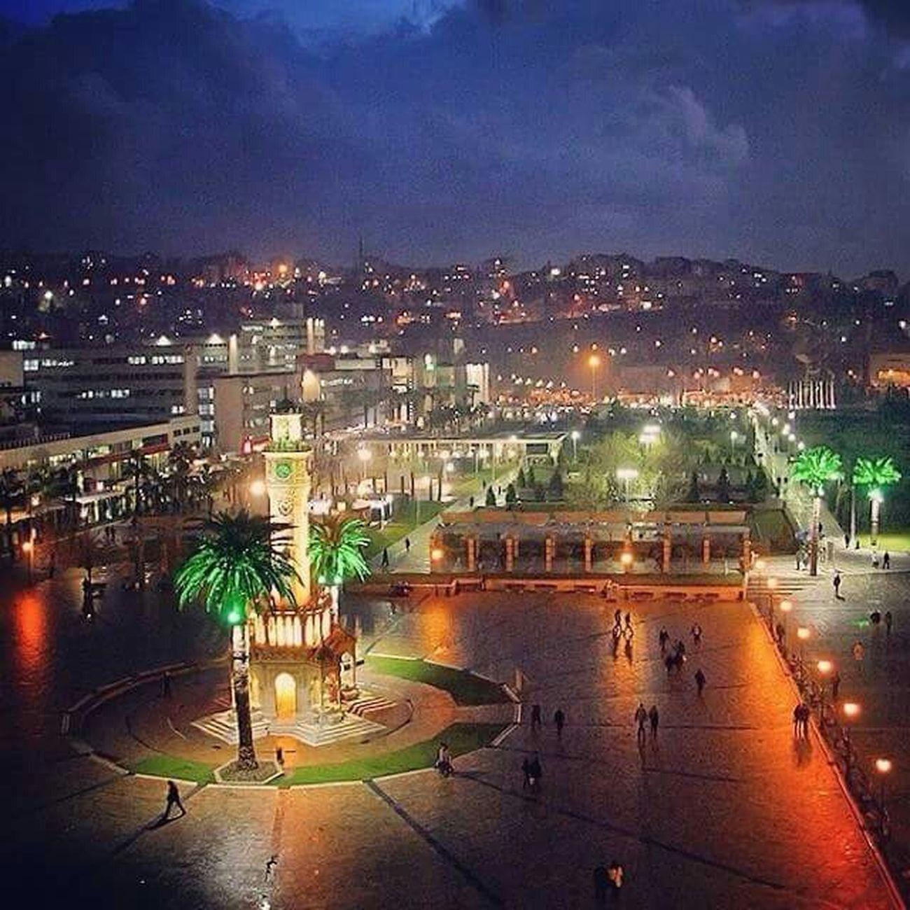 Walking Around İzmir Clock Tower  Izmirlife Turkey Izmir