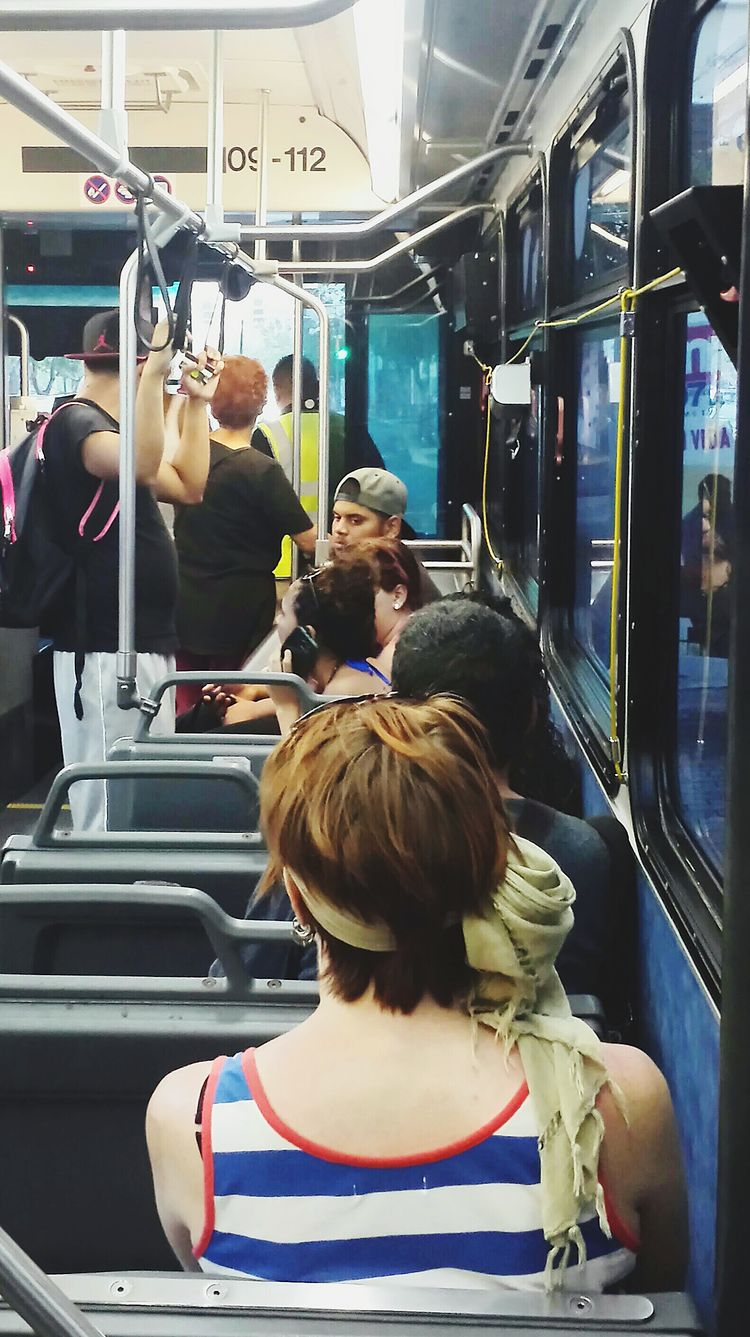 People Watching Going To Work Open Edit My Commute People On The Bus Shooting From The Bus Essence Of Summer Real People Fashion Hair Reflections Girl Power