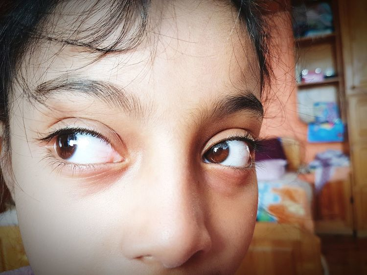 Close-up Portrait Human Eye Eye Human Face Human Body Part Beauty People Looking At Camera One Person Eyesight Kids Photography Kids Are Awesome Sister❤