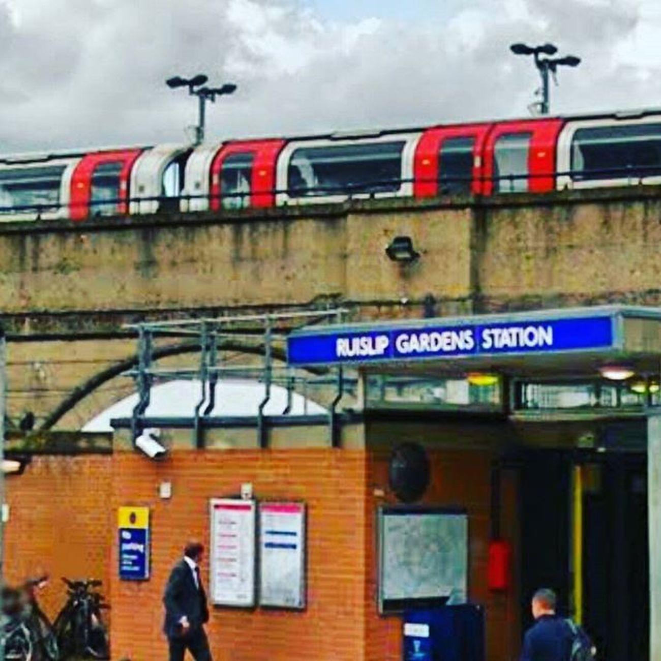 Ruislip gardens ,central line Centralline Ruislip Ruislipgardens London Londonunderground Tfl