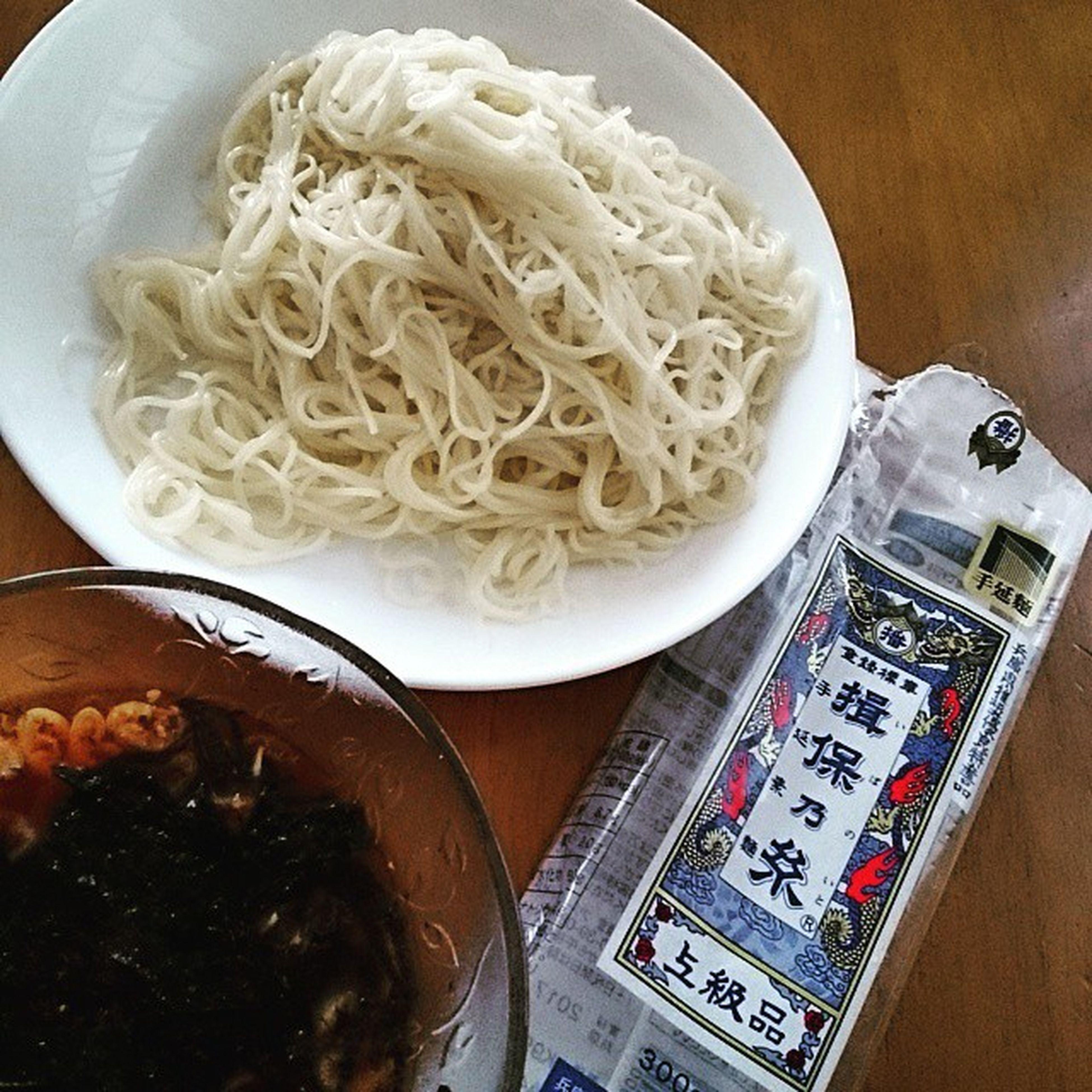 昼〆の素麺 Noodles 揖保乃糸