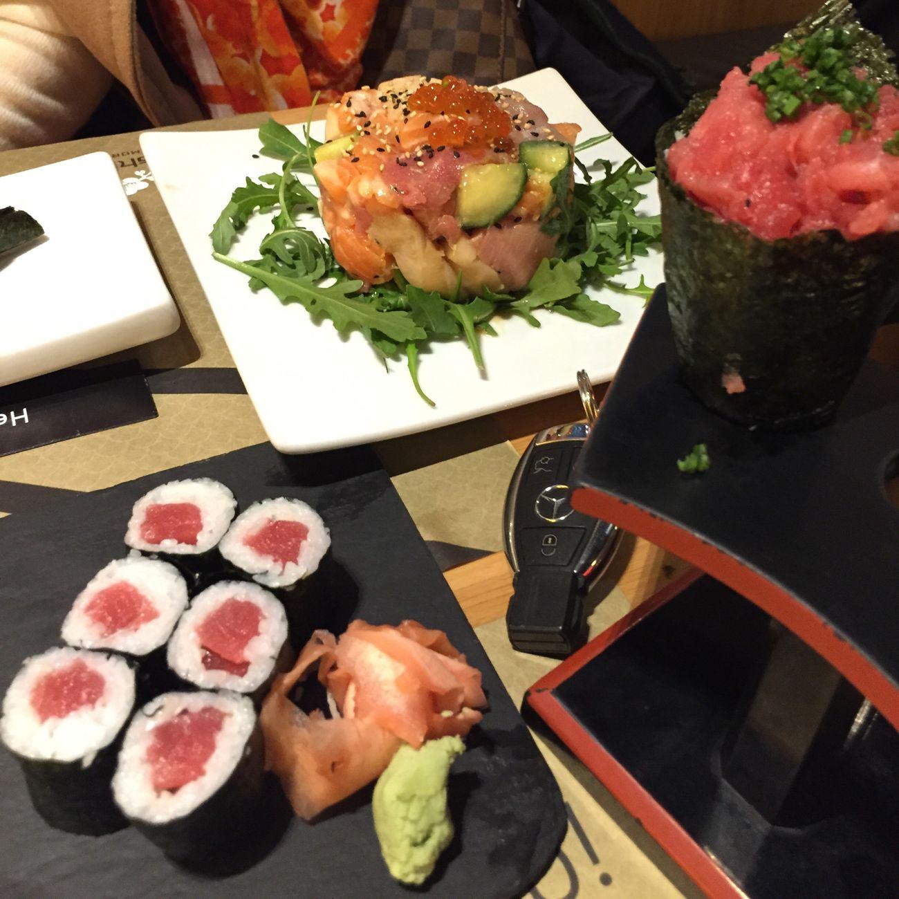 Sushicafe Sushilover primeiro sushi do ano Lisboa Amoreiras Boa Vida