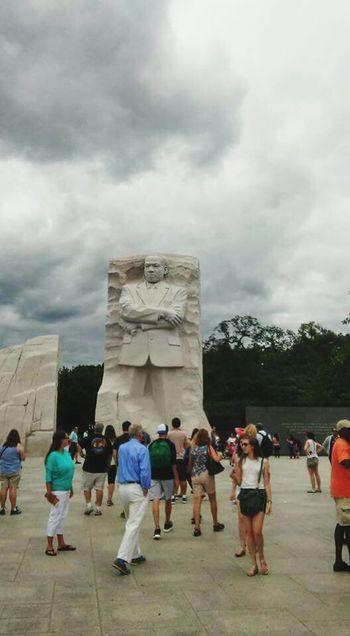 Washington, D. C. MLK Memorial Capital City Feel The Journey