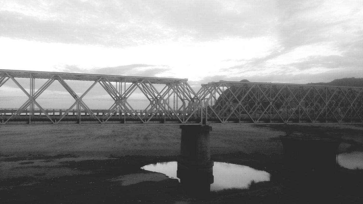 Shades Of Grey Vijayawada Prakasam Barrage Travel Photography PhonePhotography View