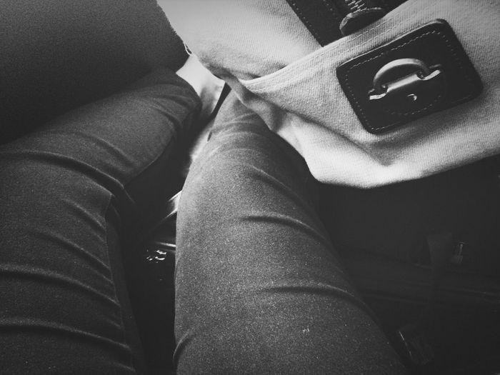 Legs Stuck Tiny Space