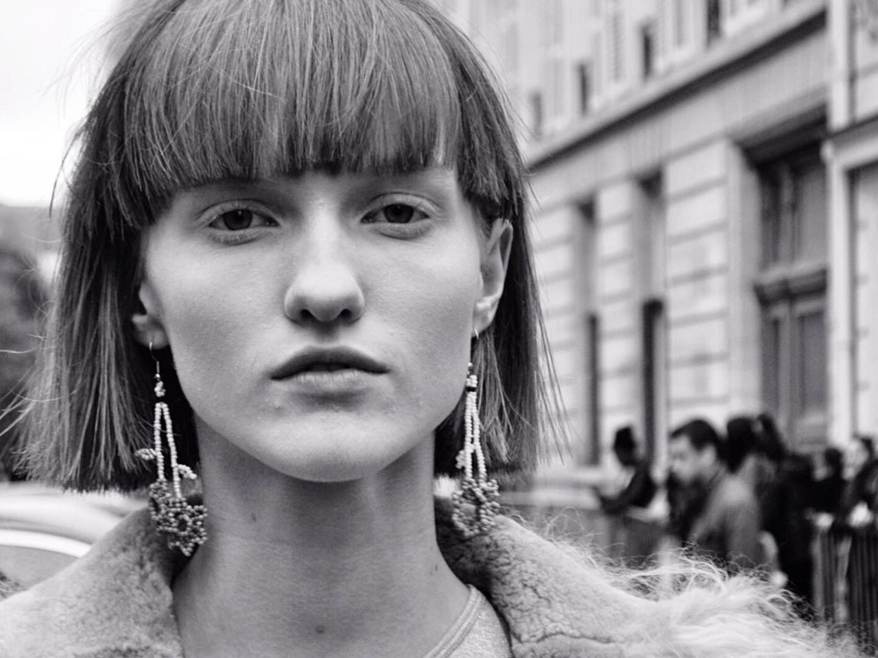 Woman Portrait Portrait Of A Woman Model Bnw Fashion Fashionweek Mode Looking At Camera Young Women Close-up Headshot Face People