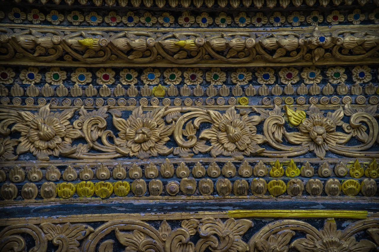 design, art and craft, pattern, architecture, no people, ornate, full frame, history, bas relief, day, built structure, outdoors, close-up, building exterior