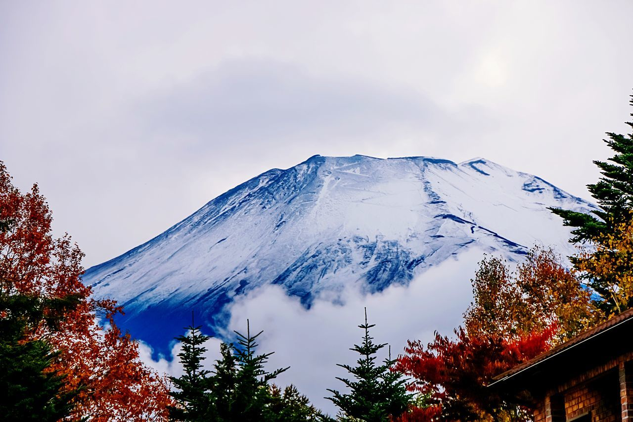 A Series Of Fuji Mountain's Picture1Mt.Fuji Fuji Mountain Fuji Mountain Style Autumn Fujimountain EyeEm Best Edits EyeEm Nature Lover Beautiful Nature Colors Of Autumn Snow Mountain