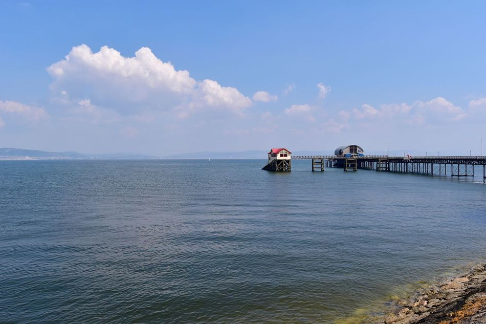 Taking Photos Sunny Day Pier Slipway. Nikon D5500