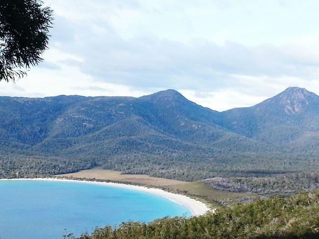 Wineglass Bay Tasmania Australia Beach White Sand Nature Beauty In Nature CantWaitToGoBack Top 10 Beaches Worthit Stunning