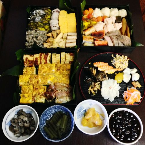 正月。おせち。ごちそう。 Food First Eyeem Photo