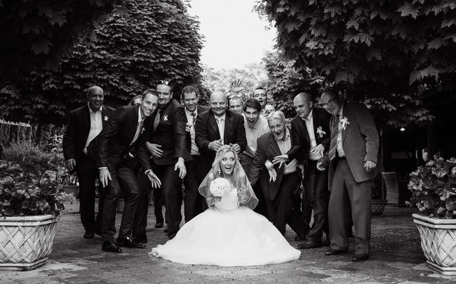 The attack on the bride Eye4photography  Blackandwhite Shootermag Eyem Best Shots