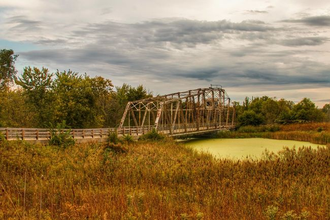 Bridge - Man Made Structure Cloud - Sky Tranquil Scene Nature Scenics Tranquility Beauty In Nature Enjoying Life Early Fall Leisure Activity Outdoors