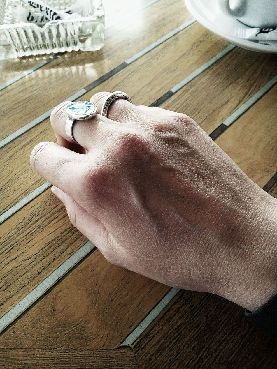 Hand Human Body Part Human Hand Day One Person Minimalism Skin Rings Uncatchable Uncatchble Woman Real People Tunisia <3 Metal Minimalistic Wood - Material Silver  Ring Detail Light And Shadow Silver  TCPM