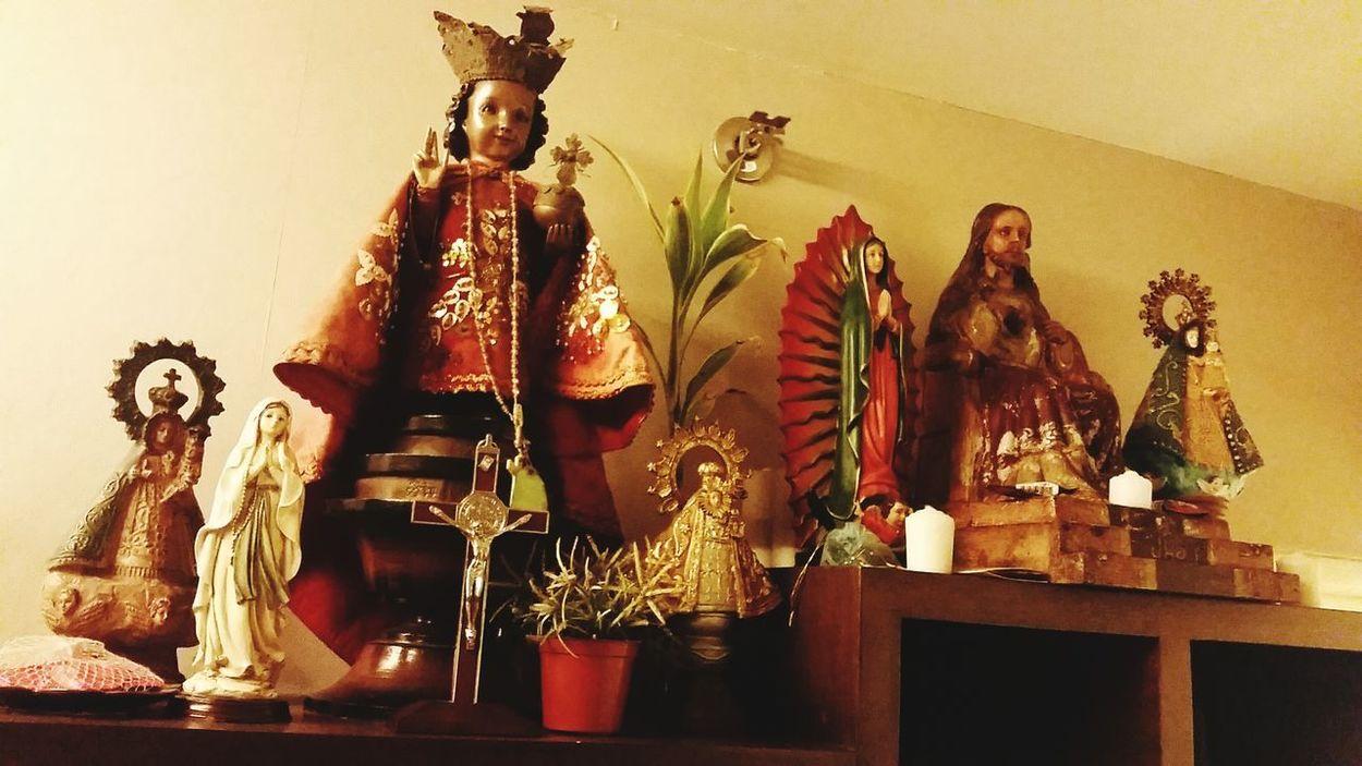 Altars Sto Nino Holy Mama Mary Jesus Christ Rosary Crucifix Eyemphotography