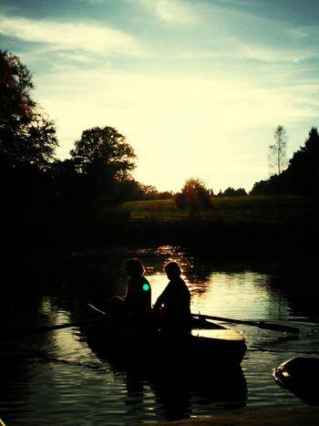 Lake Beautiful Sunset Lightgame EyeEm Best Shots