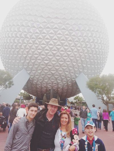 Happy New Year from Epcot Disney wow there is a big Party going on here! Tadaa Community ???