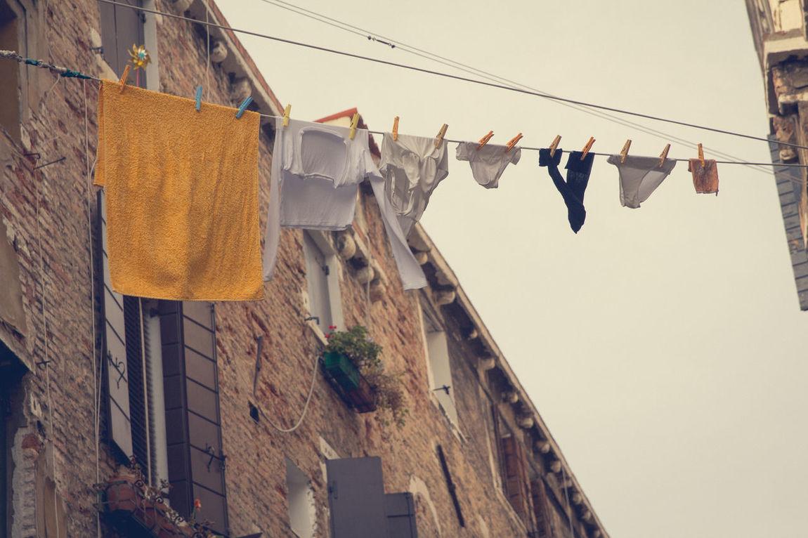 washday Cleaning Clothesline Hanging Laundry Springcleaning Summer Summertime Underpants WashDay Fresh On Eyeem