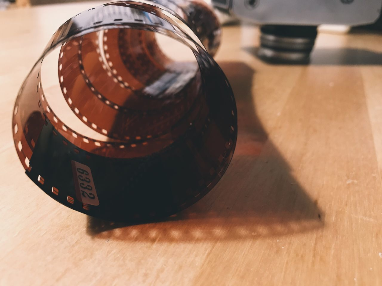 172/365 Table Indoors  Still Life No People Film Reel Close-up Camera - Photographic Equipment Film Industry Day