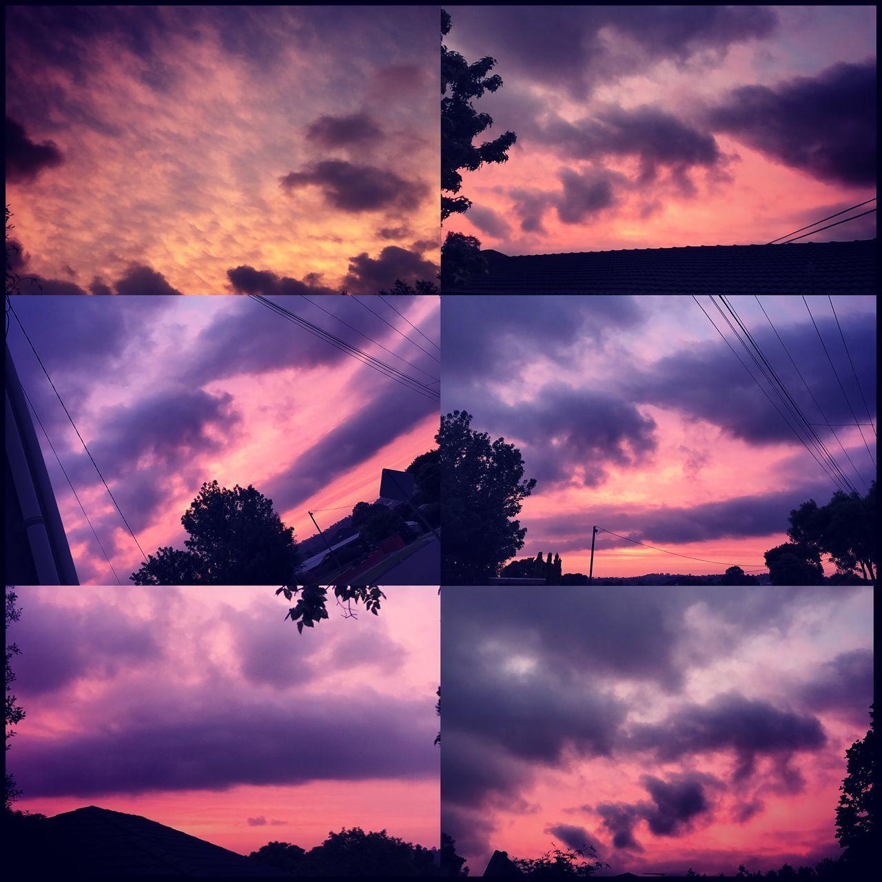 Beautiful Night for November's ending 👌🏼💜 Goodbyenovember Hellodecember Prettypinkskies Nature Beautifulnight 💜👌🏼💜